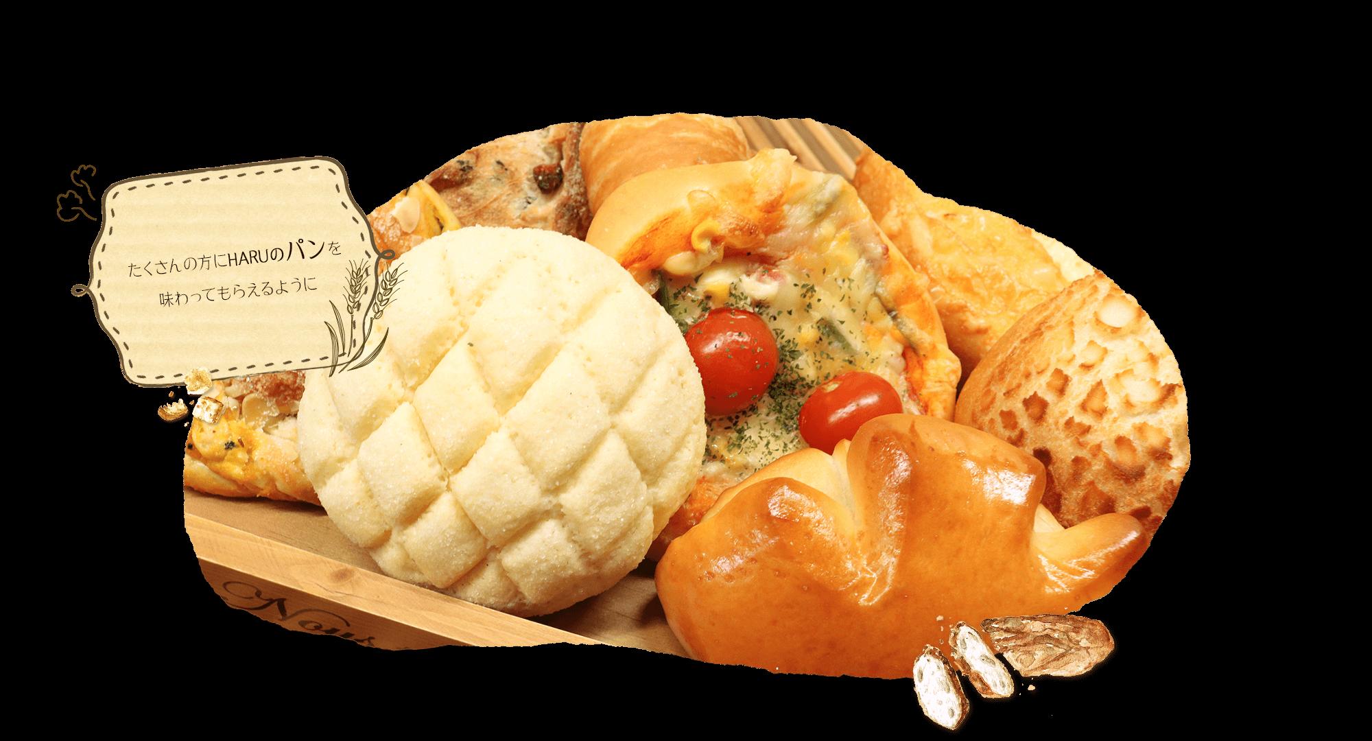 たくさんの方にHARUのパンを味わってもらえるように